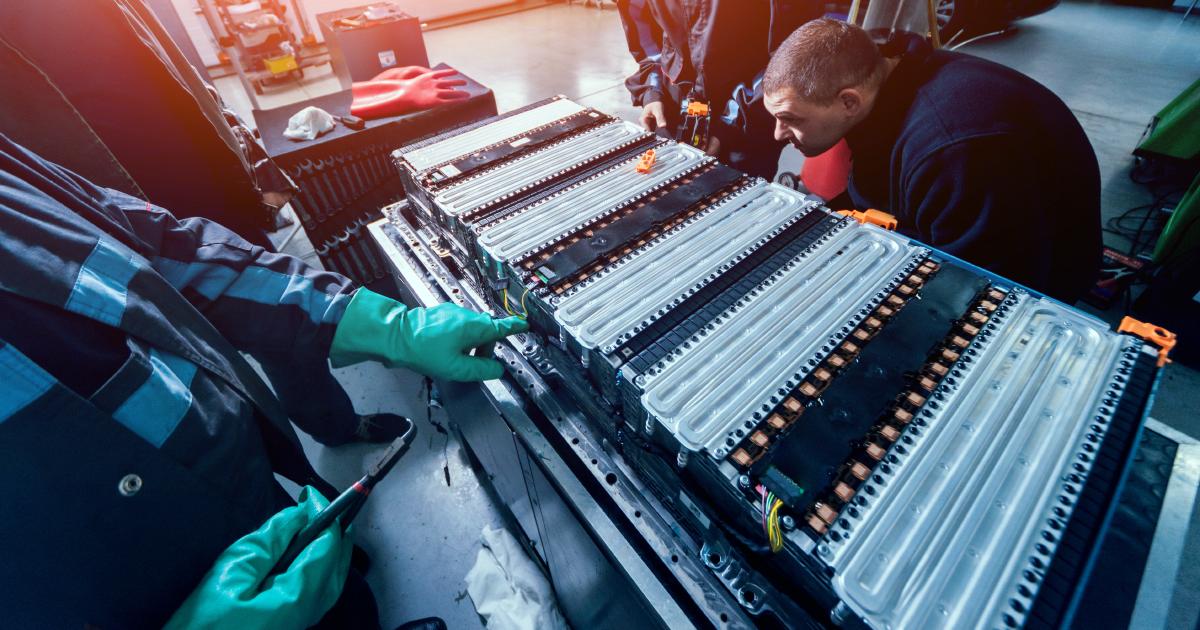 Batteries : organiser dès maintenant la filière de recyclage