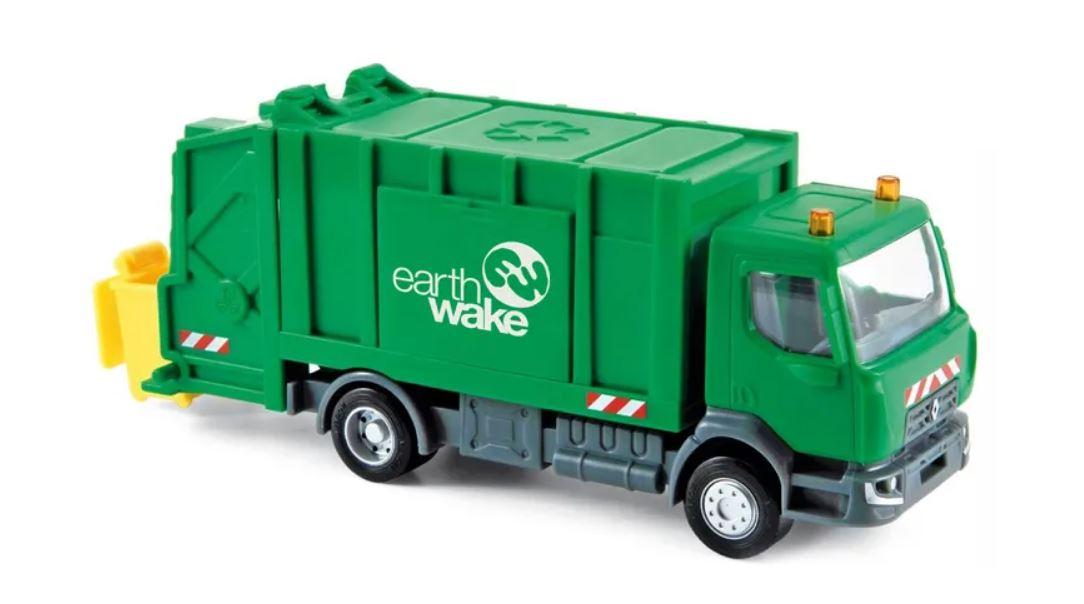 Grâce à «Earthwake», des camions poubelles carburent aux déchets plastiques